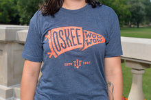 Load image into Gallery viewer, Oskee Wow Wow Pennant T-Shirt
