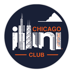 Chicago Illini Sticker