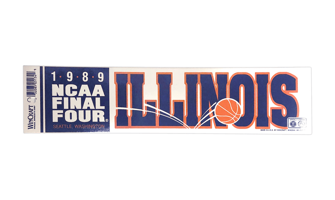 1989 Final Four Sticker
