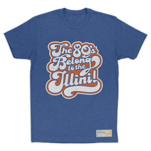 The 80's Belong to the Illini T-Shirt