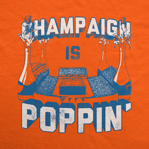 Champaign is Poppin' T-Shirt