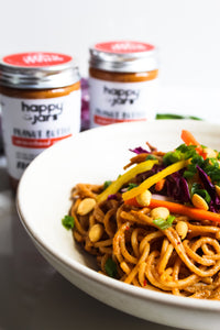 Recipe: Asian Noodle Salad with PB dressing