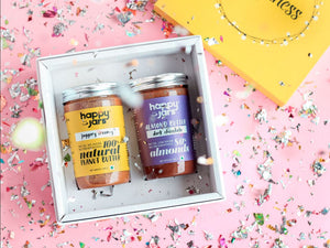 Happiness Gift Box - Almond-Peanut Combo