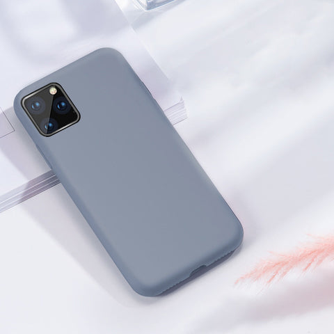 Silicone Rubber Soft Case For all iPhone 11 models