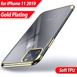 Protective Plating Cases For all Iphone 11 models