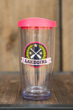 Load image into Gallery viewer, Lakegirl 16oz. Tumbler Lily Paddle Patch