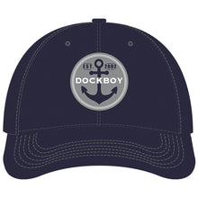 Load image into Gallery viewer, Navy Youth Dock Boy Hat