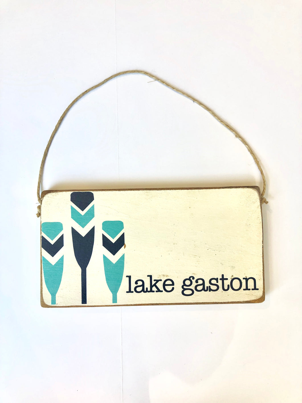 Rustic Marlin Lake Gaston Mini Plank