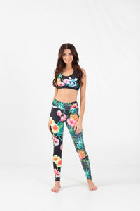 Wave Life Tropical Jungle Active Legging