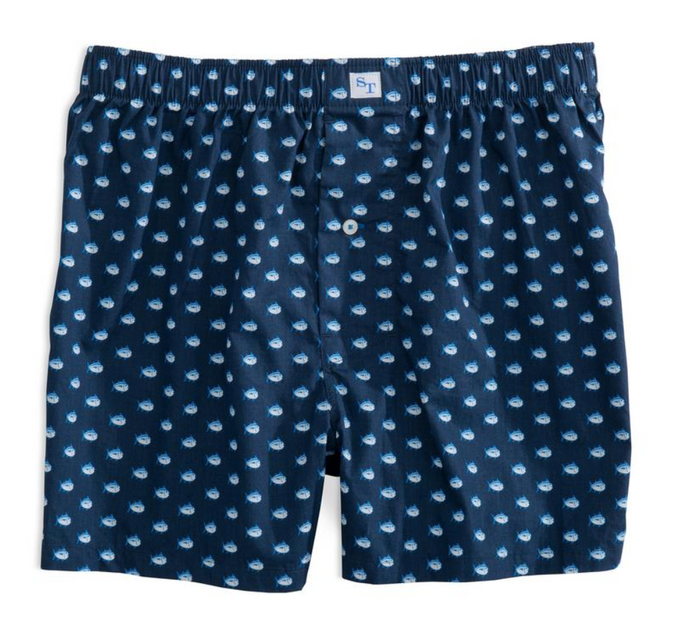 Men's True Navy Southern Tide Skipjack Boxers