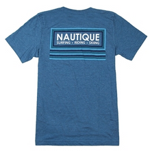 Load image into Gallery viewer, Nautique Heather Deep Teal Tee Shirt  NC1170
