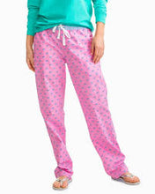 Load image into Gallery viewer, Women's Skipjack Lounge Pant - Pink or Blue