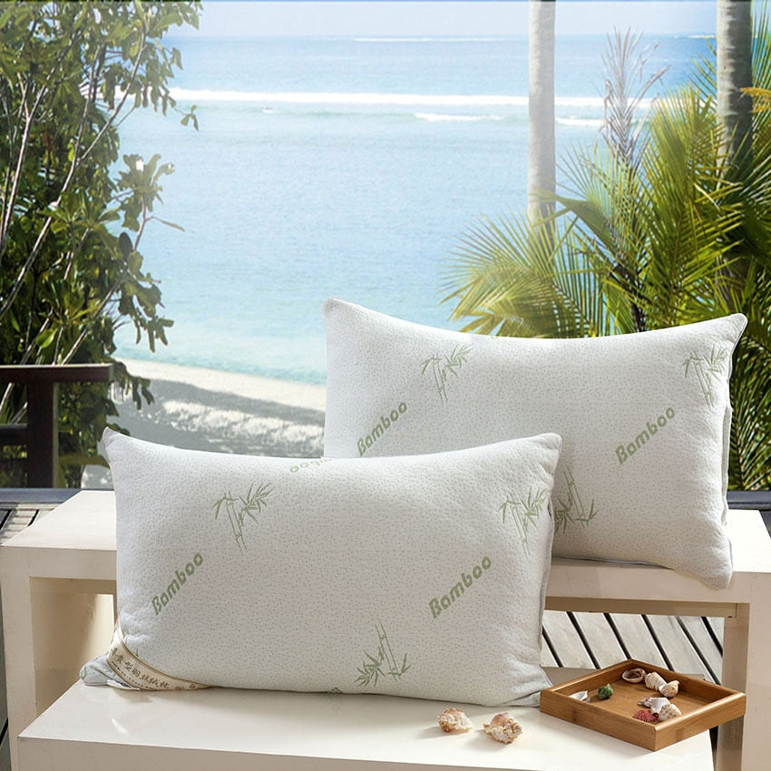 Bamboo fiber pillow/ Throw pillows /light Pillow/Zero Pressure Memory Pillow Neck Health /Cushion/