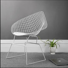 Load image into Gallery viewer, Nordic hollow iron wire chair modern simple dining chair designer chair creative studio clothing leisure chair