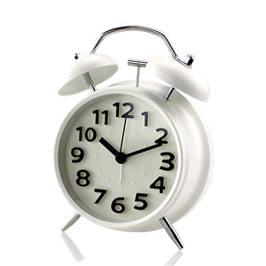 Old Fashioned Alarm Clock Non-Tricking Clock Backlight Clock Kids Alarm Clock ok to Wake