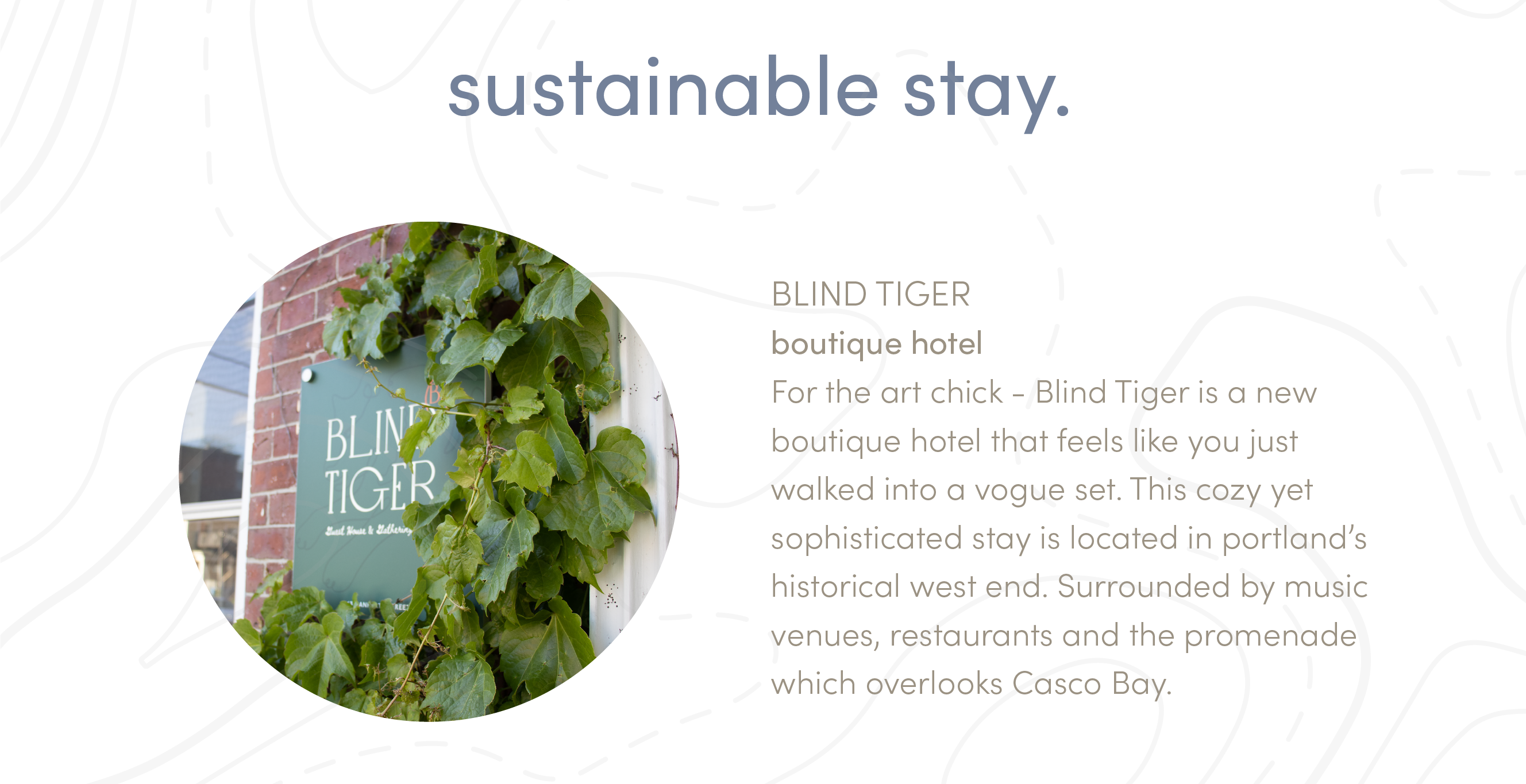 sustainable stay