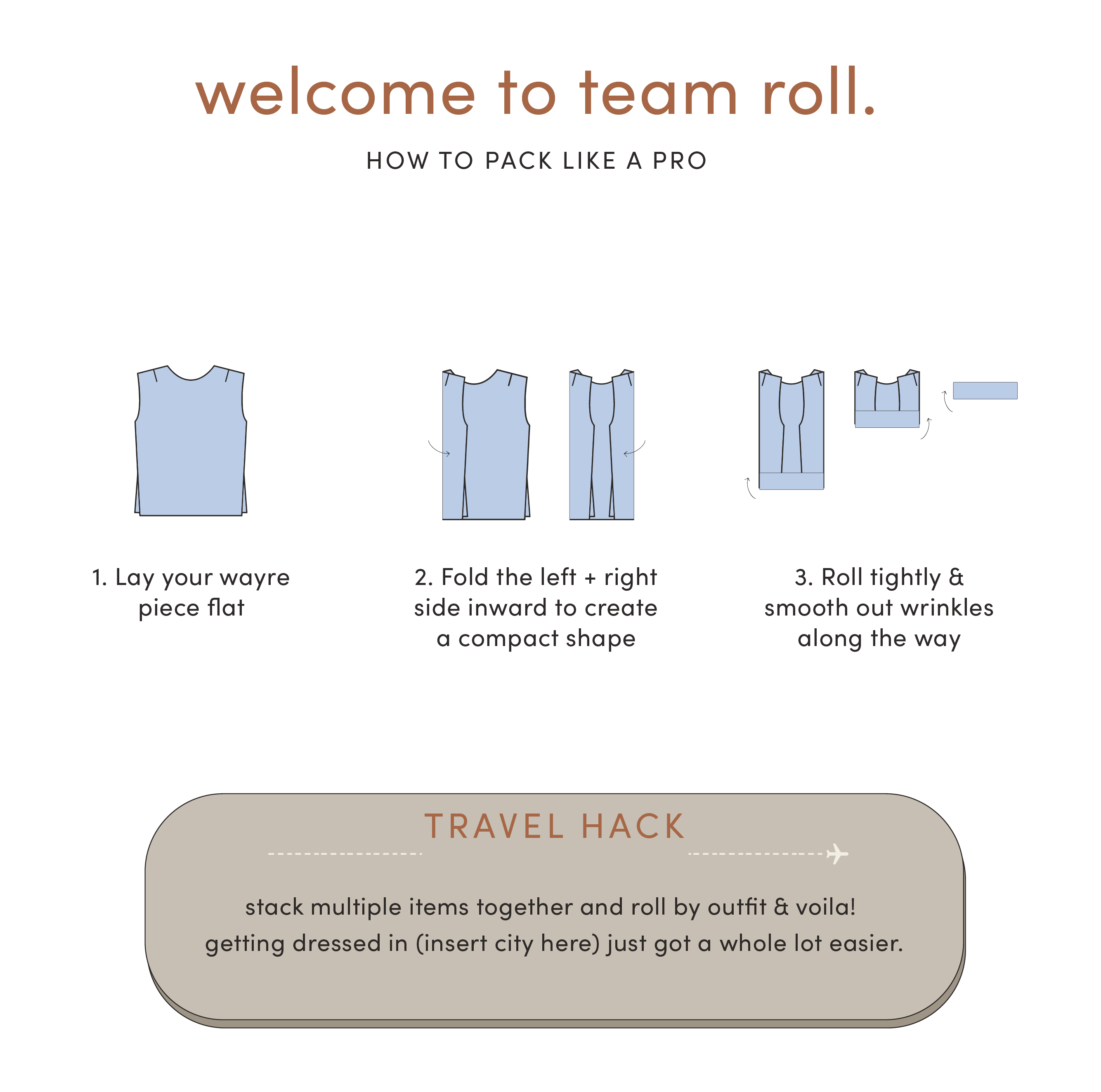 welcome to team roll.