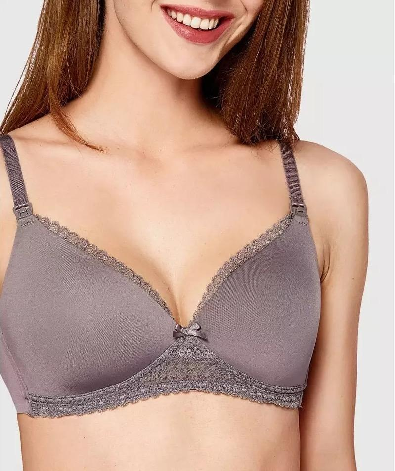 Thistle Lace Maternity Nursing Bra - Latched.SG