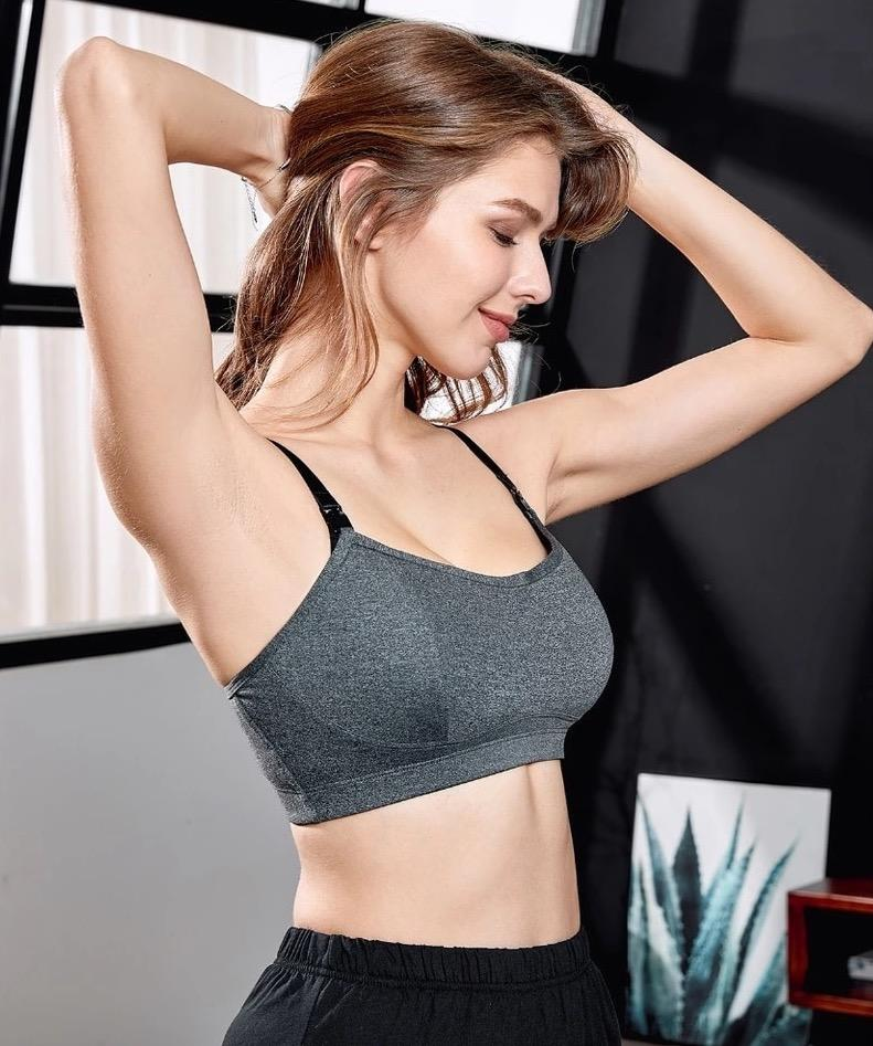 Ruscus Sports Maternity Nursing Bra - Latched.SG