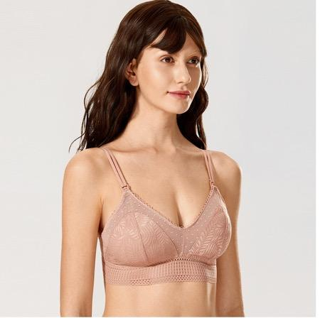 Laurel Lace Wire-free Maternity Nursing Bra