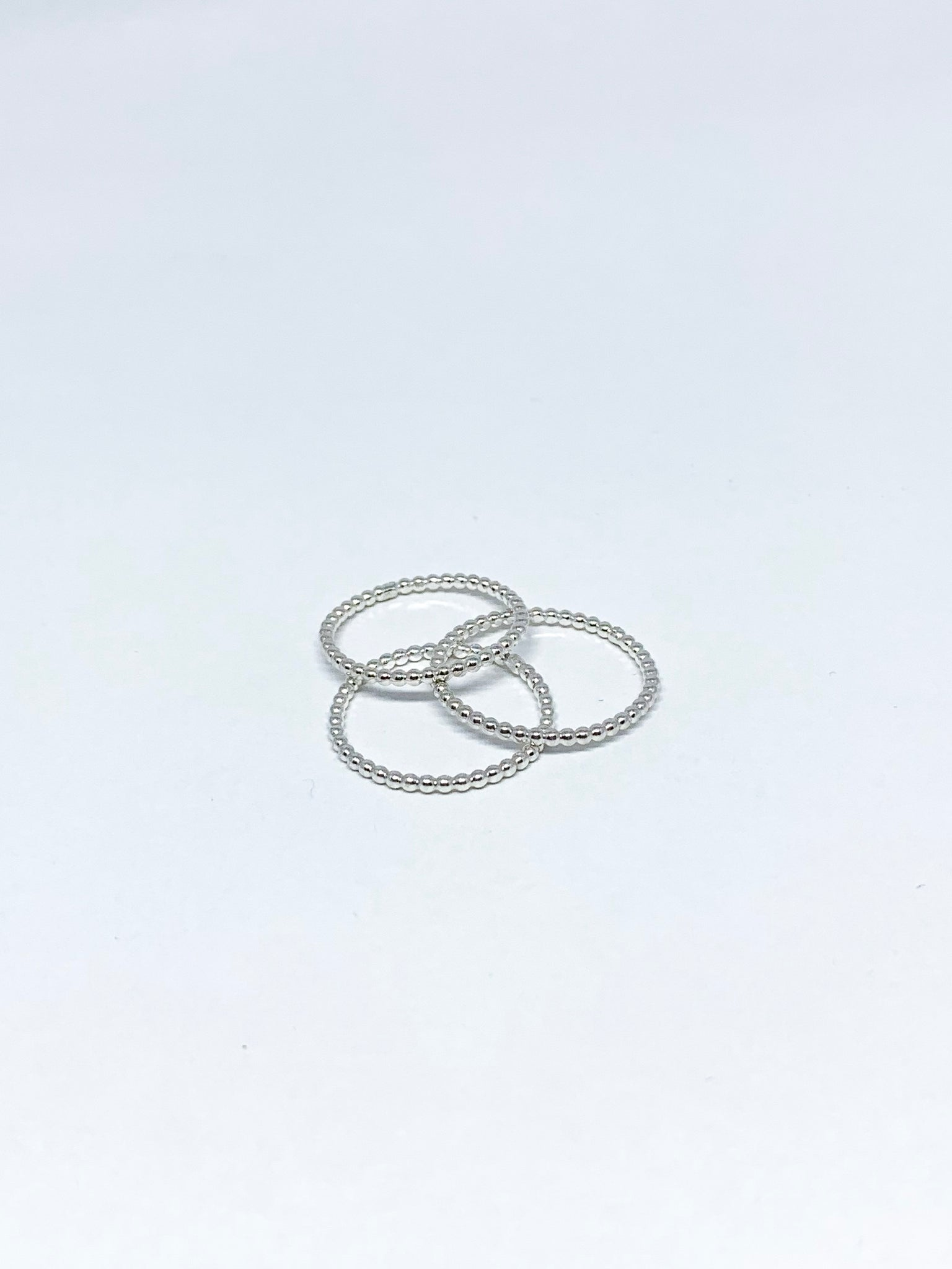 Spine silver ring