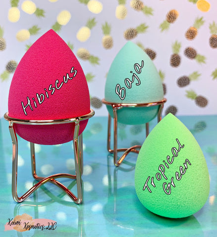Tropical Green Mini Makeup Sponge