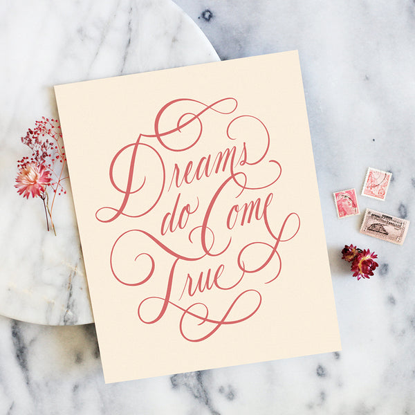 Dreams Do Come True Art Print