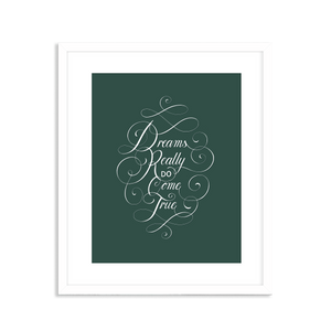 Dreams Print - Green