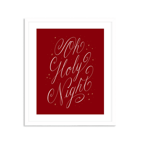Oh Holy Night-Red