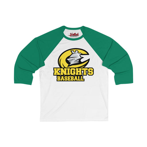 Knights - 3/4 Sleeve Baseball Tee (Coach)