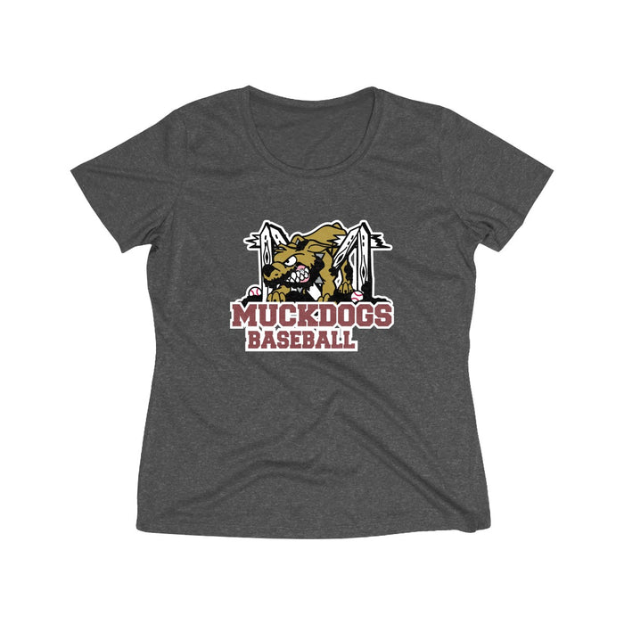 Muckdogs - Women's Heather Wicking Tee