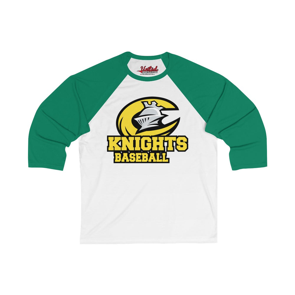 Knights - 3/4 Sleeve Baseball Tee