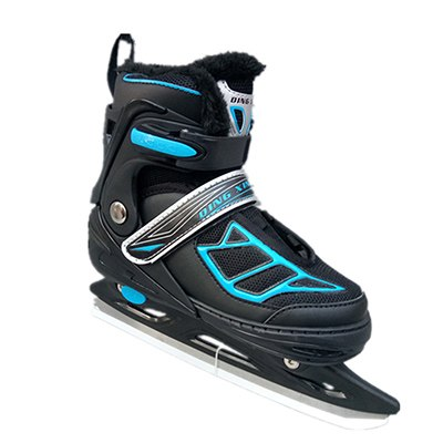 Winter NEW Inline Thermal Thick Professional Women Adult Kids Ice Hockey  Blade Skates Skating Shoes Adjustable Kids Adult