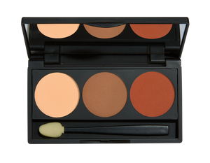 Pro Trio Eyeshadow Palettes - Teacup Cosmetics