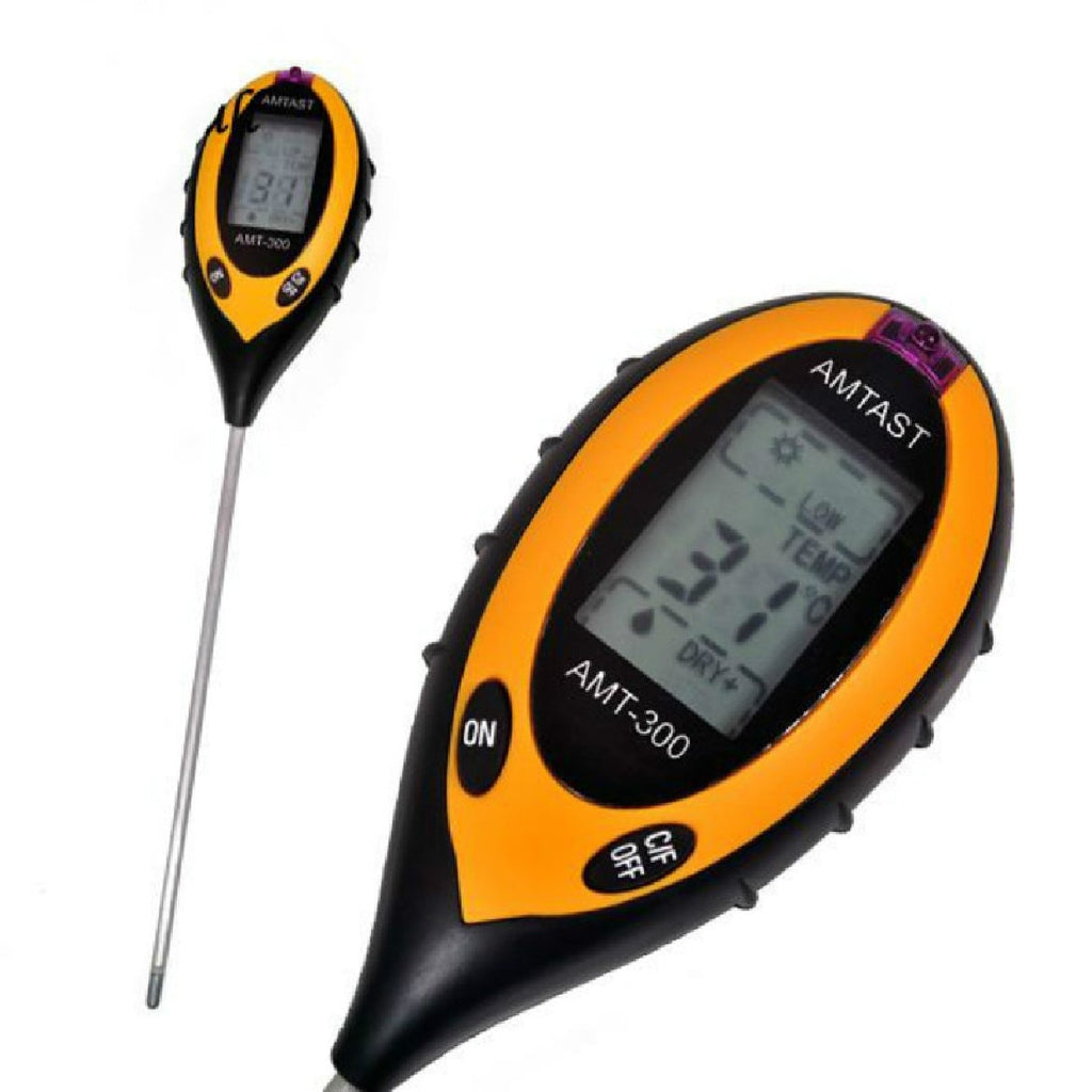 4 in 1 Plant Soil PH Moisture Light Soil Meter Thermometer Soil Survey Instrument