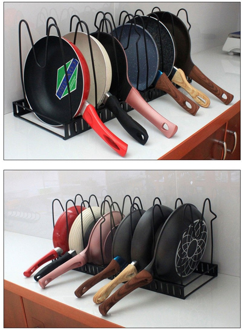 Ajustable Metal Kitchen Accessory Organizer