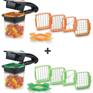 Multi-functional 4 Blades  Stainless Steel Vegetable Cutter