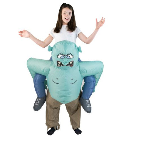 "Déguisement de troll gonflable ""Lift You Up®"" Pour Enfants"