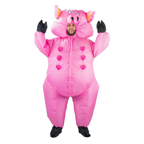 Costume de Cochon Gonflable