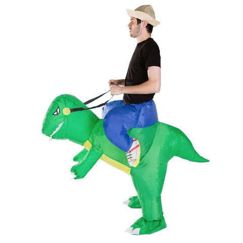 Costume Dinosaure Gonflabe Deluxe