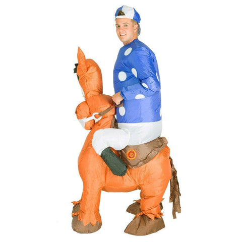 Costume de Jockey Gonflable