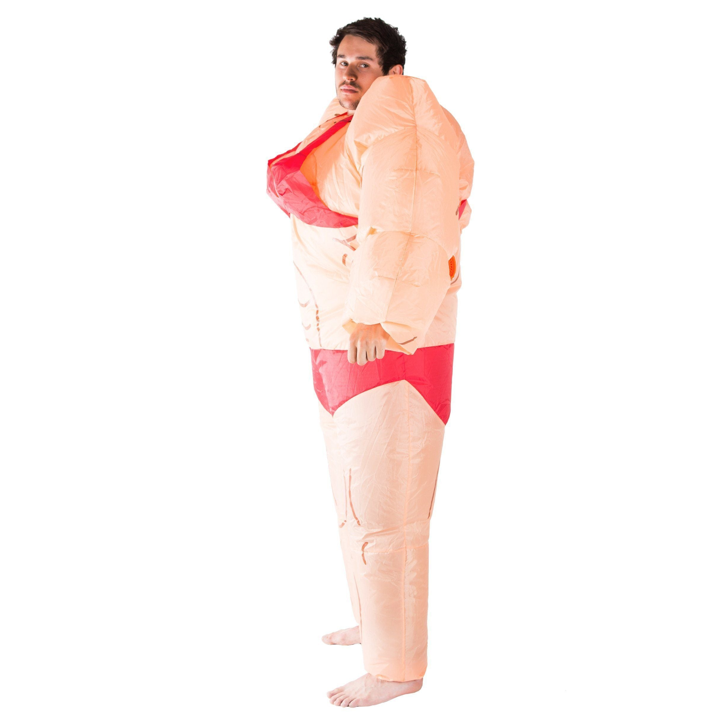 Fancy Dress - Inflatable Lady Muscle Suit Costume