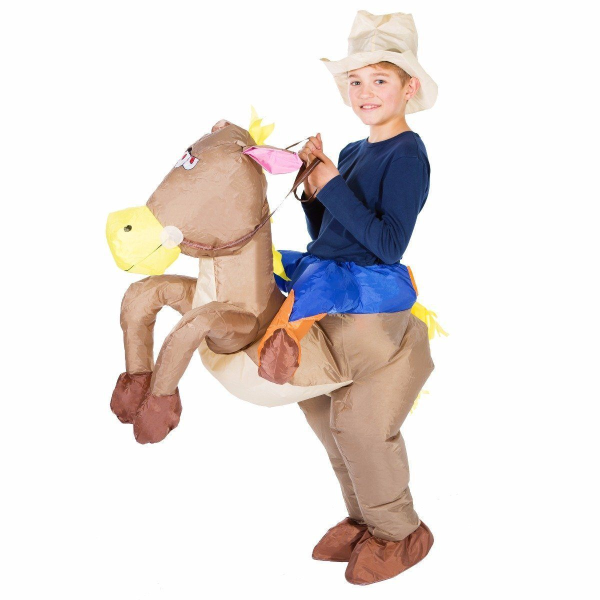 Fancy Dress - Kids Inflatable Cowboy Costume