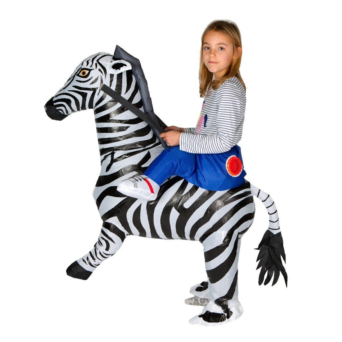 Fancy Dress - Kids Inflatable Zebra Costume