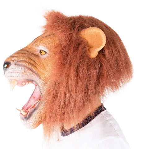 Masque de Lion en Latex