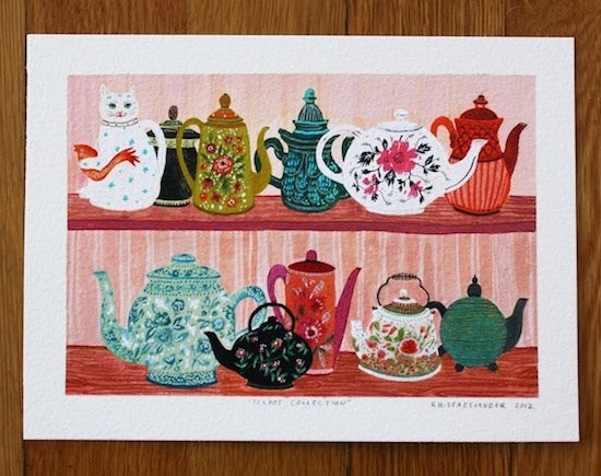 http://www.buysomedamnart.com/products/teapot-collection