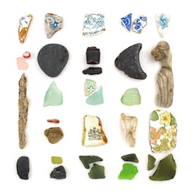 Beachcombing 29 by Jennifer Steen Booher for $275