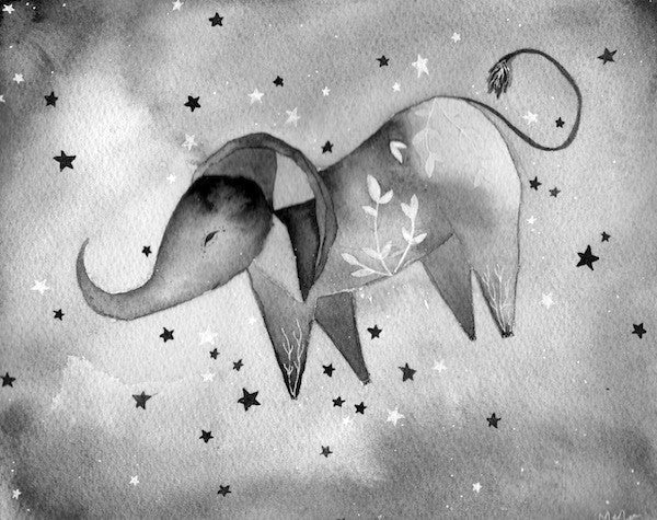 Elephant Turned Himself Over to the Sun and the Stars