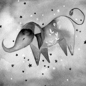 Elephant Turned Himself Over to the Sun and the Stars by Meera Lee Patel for $400