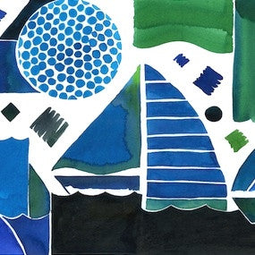 Oceans 1 by Ana Montiel for $395